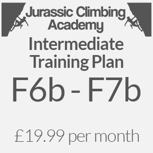 intermediate training plan for climbers online