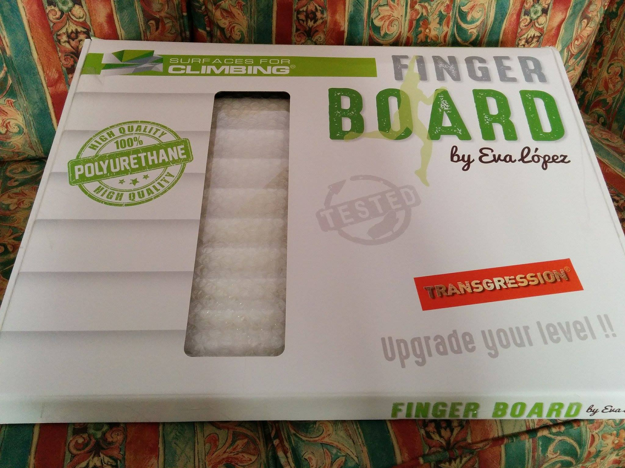 Transgression Finger board by Eva Lopez