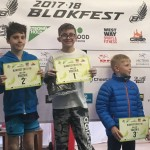 Oscar Preston taking first place at Blokfest