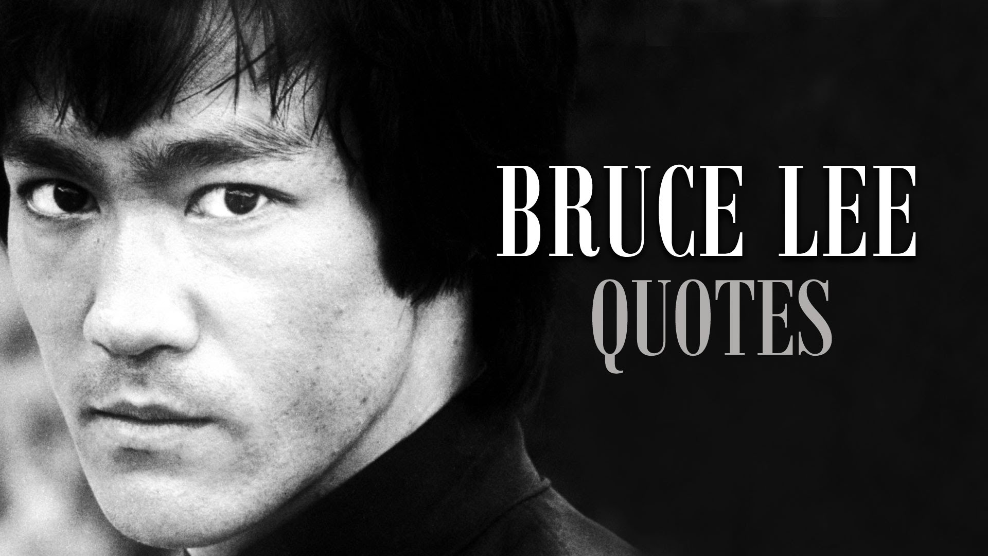 Bruce Lee Philosophy - Bruce Jun Fan Lee was born in the hour of the Dragon, between 6 and 8 a.m., in the year of the Dragon on November 27, 1940, at the Jackson Street Hospital in San Francisco's Chinatown. At the university, Bruce majored in philosophy. His passion for Gung Fu inspired a desire to delve into the philosophical underpinnings and many of his written essays during those years would relate philosophical principles to certain martial arts techniques. Bruce's art was steeped in a philosophical foundation and did not follow long-held martial art traditions. Instead, it had at its core the ideas of simplicity, directness and personal freedom.