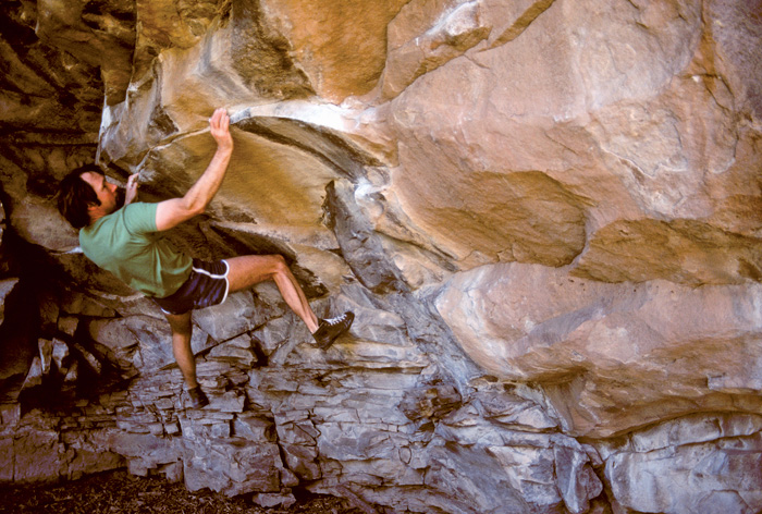 John Gill the father of modern bouldering.
