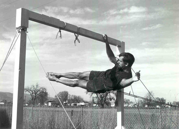 John Gill the father of modern bouldering