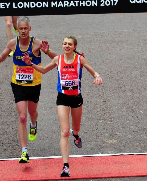 Starving Athletes For Success, Anna Boniface at London Marathon