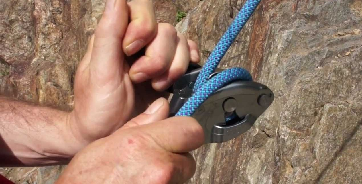 Petzl GriGri 2 Review in use