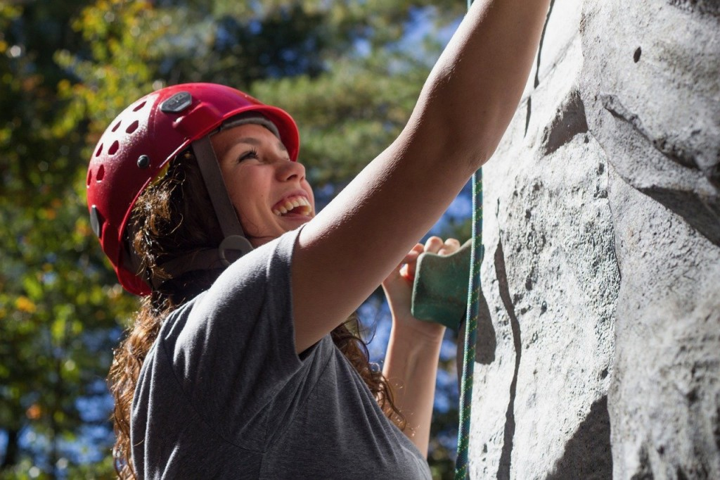 Girl's Are The Best Rock Climbers